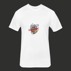 supreme x mummify - Fitted Cotton/Poly T-Shirt by Next Level