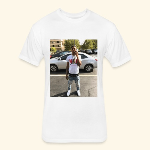 NBA YoungBoy - Fitted Cotton/Poly T-Shirt by Next Level
