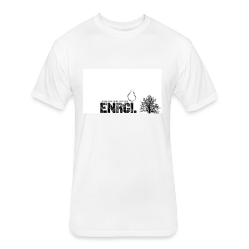 ENRGI CLOTHING - Fitted Cotton/Poly T-Shirt by Next Level