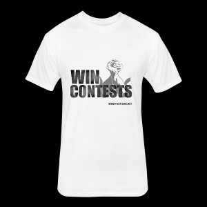 WIN CONTESTS - Fitted Cotton/Poly T-Shirt by Next Level