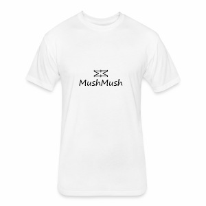Logo On Light - Fitted Cotton/Poly T-Shirt by Next Level