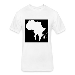 Tswa_Daar_Logo_Design - Fitted Cotton/Poly T-Shirt by Next Level