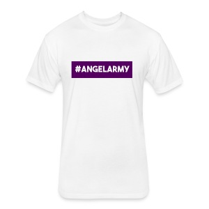 The Angel Army - Fitted Cotton/Poly T-Shirt by Next Level