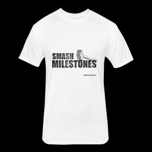 SMASH MILESTONES - Fitted Cotton/Poly T-Shirt by Next Level