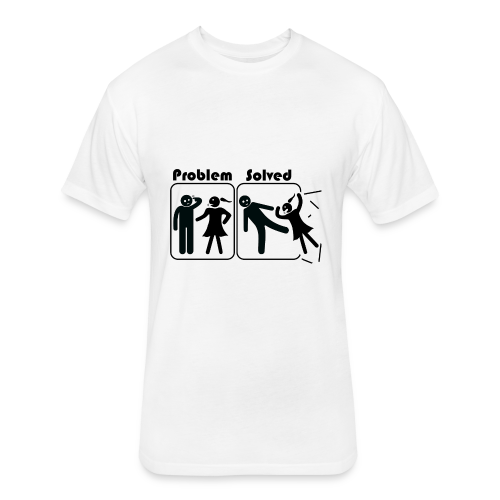 Problem Solving - Fitted Cotton/Poly T-Shirt by Next Level