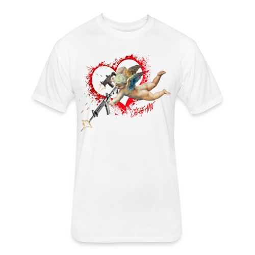 21st Century Cupid - Fitted Cotton/Poly T-Shirt by Next Level