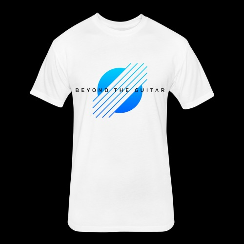 BeyondTheGuitar - Fitted Cotton/Poly T-Shirt by Next Level