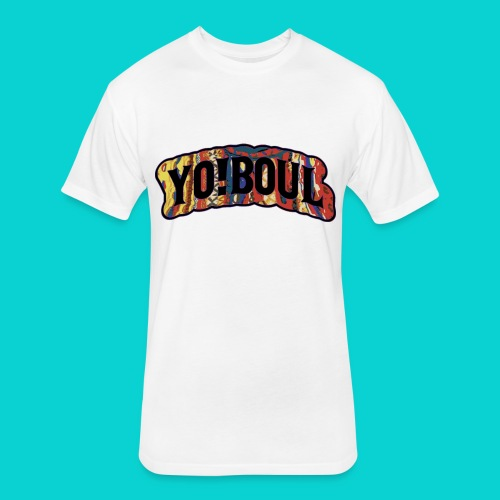 Yo ! Boul Coogi Collection - Fitted Cotton/Poly T-Shirt by Next Level