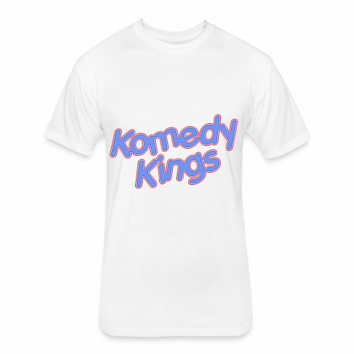 KomedyKings Brand Name Tee - Fitted Cotton/Poly T-Shirt by Next Level
