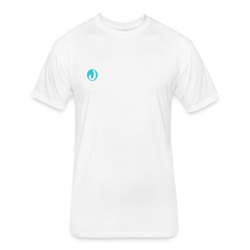 The letter J - Fitted Cotton/Poly T-Shirt by Next Level