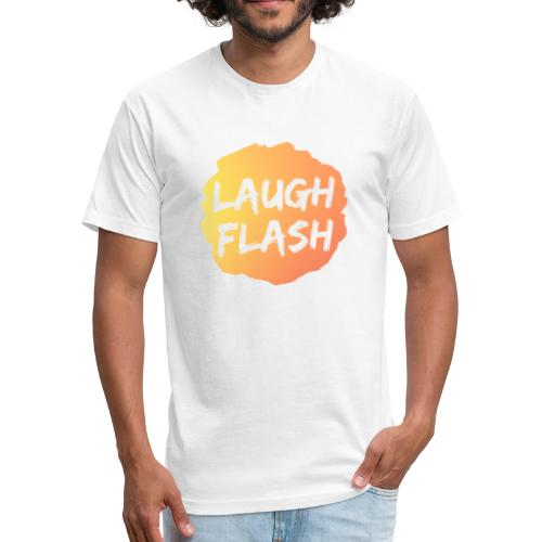 Laugh Flash Origin - Fitted Cotton/Poly T-Shirt by Next Level