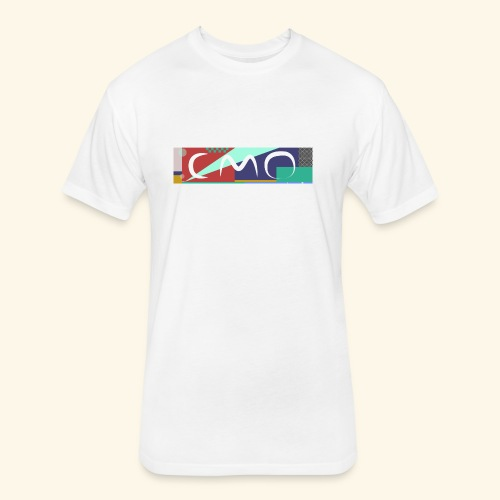 cmologo - Fitted Cotton/Poly T-Shirt by Next Level