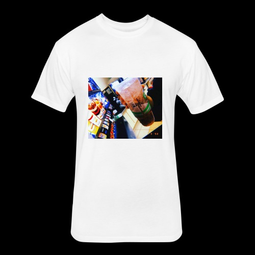 DRANK - Fitted Cotton/Poly T-Shirt by Next Level