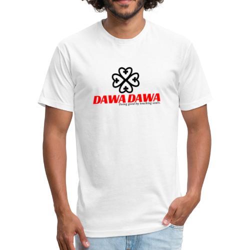 Dawa Dawa Logo - Fitted Cotton/Poly T-Shirt by Next Level