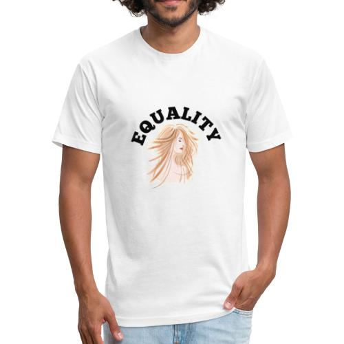 Woman equality day t-shirt - Fitted Cotton/Poly T-Shirt by Next Level