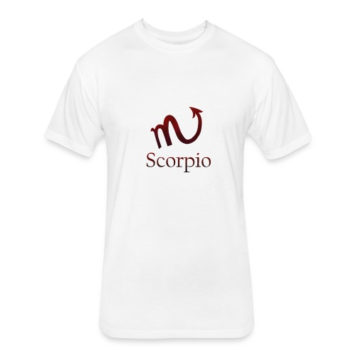 Scorpio - Fitted Cotton/Poly T-Shirt by Next Level