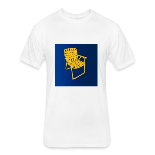 Siting chair - Fitted Cotton/Poly T-Shirt by Next Level