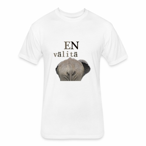 En välitä - Fitted Cotton/Poly T-Shirt by Next Level