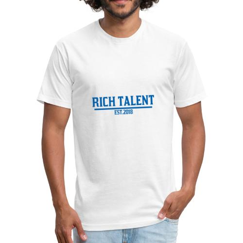 Rich Talent est.2018 - Fitted Cotton/Poly T-Shirt by Next Level