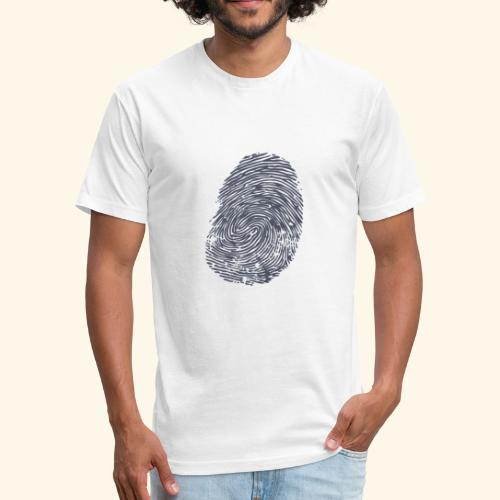 Fingerprint - The Stuff is MINE - Fitted Cotton/Poly T-Shirt by Next Level