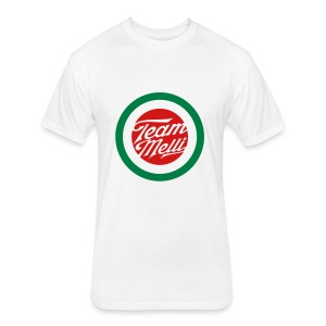TEAM MELLI RETRO BADGE - Fitted Cotton/Poly T-Shirt by Next Level