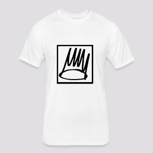 Born Sinner - Fitted Cotton/Poly T-Shirt by Next Level