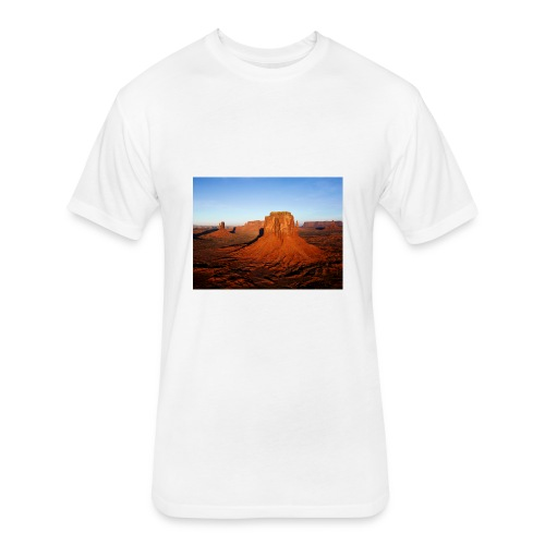 Desert - Fitted Cotton/Poly T-Shirt by Next Level