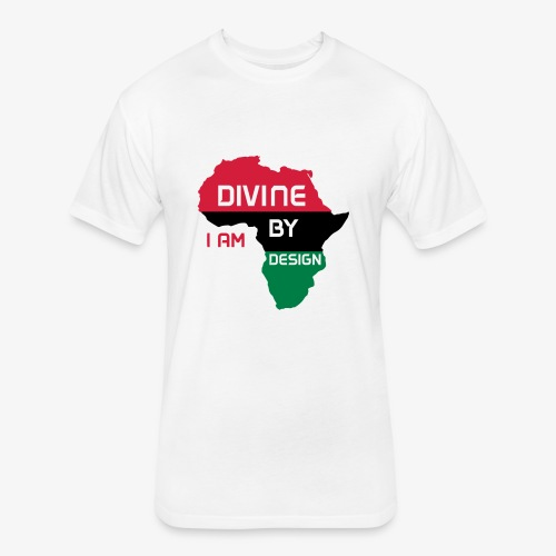 I Am Divine By Design - Fitted Cotton/Poly T-Shirt by Next Level