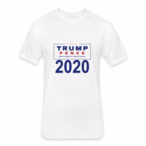 Trump 2020 - Fitted Cotton/Poly T-Shirt by Next Level