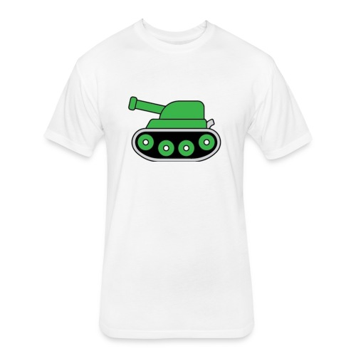 TEAM TANK MERCH - Fitted Cotton/Poly T-Shirt by Next Level