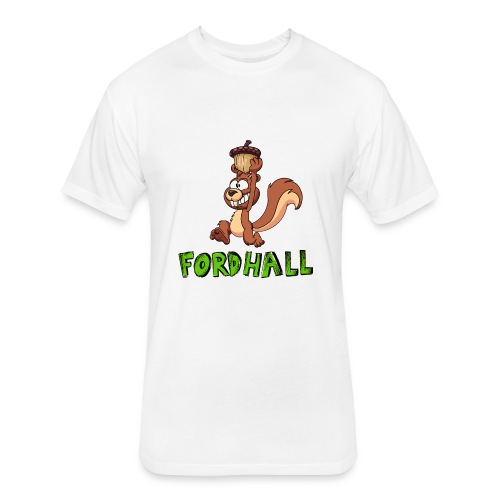 squirrel fordhall1 - Fitted Cotton/Poly T-Shirt by Next Level