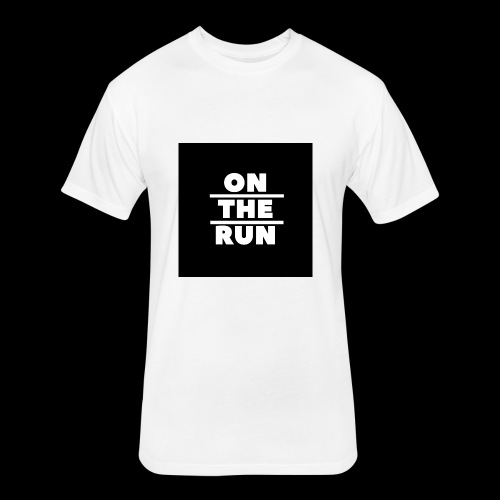 On The Run Classic Design - Fitted Cotton/Poly T-Shirt by Next Level