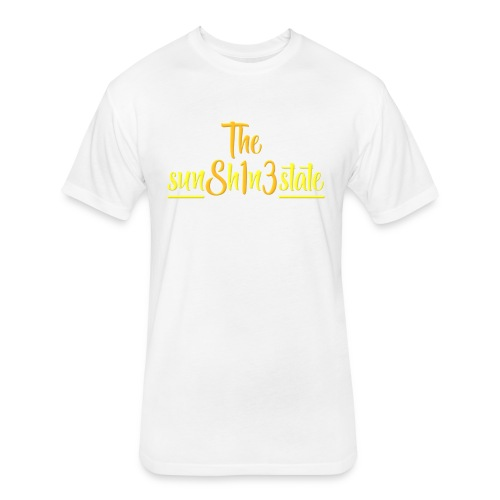 The Sunshine State - Fitted Cotton/Poly T-Shirt by Next Level