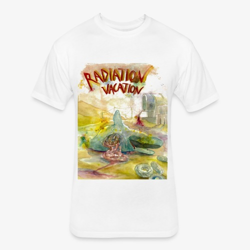 Beached Whale - Fitted Cotton/Poly T-Shirt by Next Level