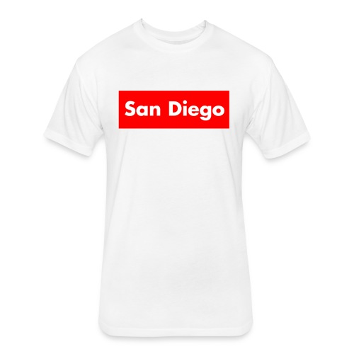 Supreme San Diego v5 - Fitted Cotton/Poly T-Shirt by Next Level