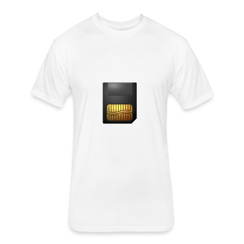 Memory Card - Fitted Cotton/Poly T-Shirt by Next Level