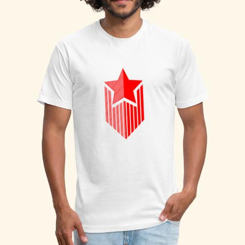 étoile - Fitted Cotton/Poly T-Shirt by Next Level