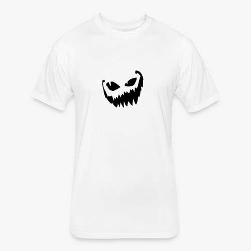 Crazy Smile - Halloween Collection - Fitted Cotton/Poly T-Shirt by Next Level