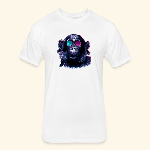 Cool Chimp - Fitted Cotton/Poly T-Shirt by Next Level