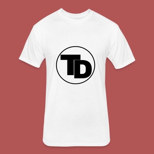 Team doronne Maine logo - Fitted Cotton/Poly T-Shirt by Next Level