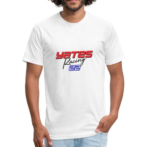 Yates Racing RED - Fitted Cotton/Poly T-Shirt by Next Level