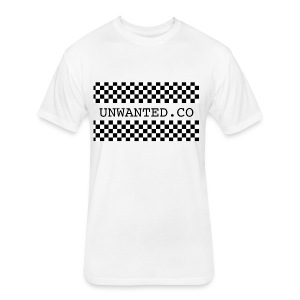 checkered unwanted - Fitted Cotton/Poly T-Shirt by Next Level