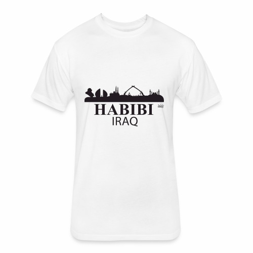 Habibi Iraq - Fitted Cotton/Poly T-Shirt by Next Level