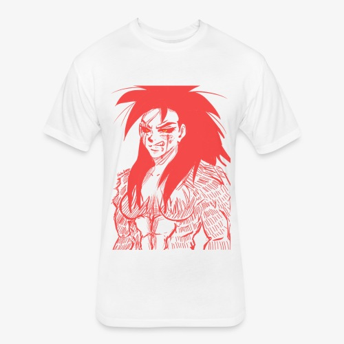 Demon - Fitted Cotton/Poly T-Shirt by Next Level