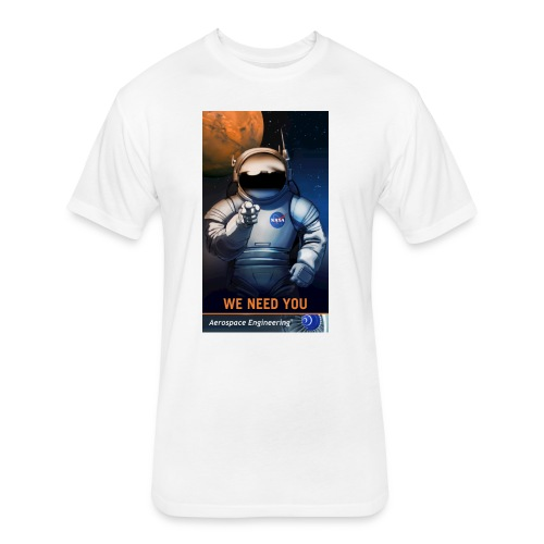 WE NEED YOU - Fitted Cotton/Poly T-Shirt by Next Level