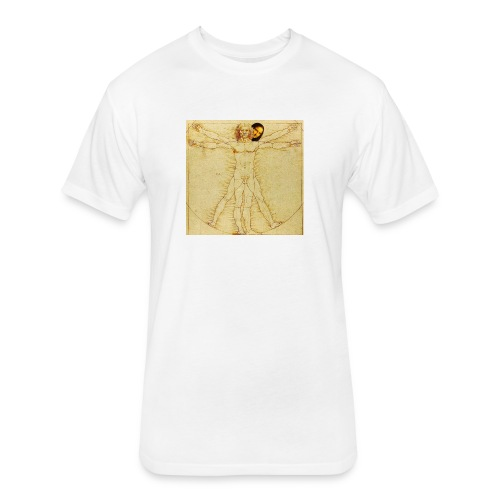 humanist - Fitted Cotton/Poly T-Shirt by Next Level