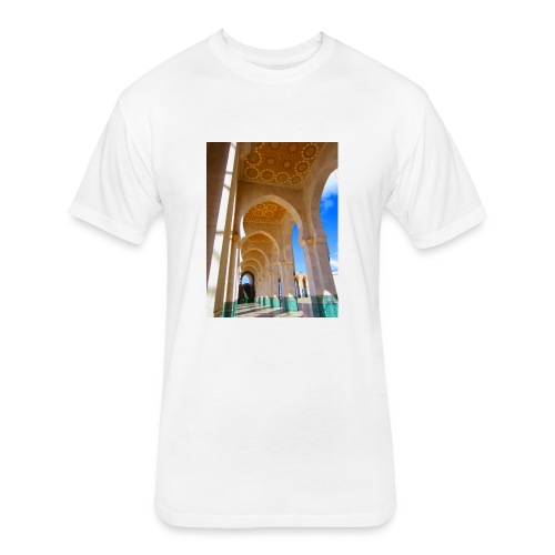 Arch of Liberty - Fitted Cotton/Poly T-Shirt by Next Level