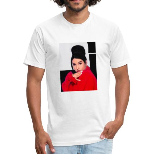 Selena - Fitted Cotton/Poly T-Shirt by Next Level