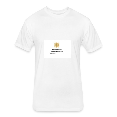 Kindom Insert T-Shirt - Fitted Cotton/Poly T-Shirt by Next Level