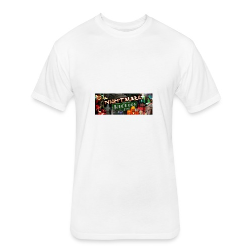 Nightmare on Hickory Lane - Fitted Cotton/Poly T-Shirt by Next Level